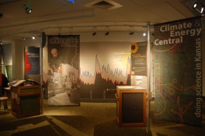 Exhibit explores Kansas research on climate change, renewable energy