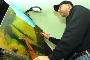 Newton artist paints a fall-time career