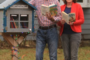 Opening the book on little free libraries