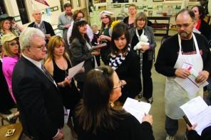 Artwork, flags, guns, paper dolls / Debra Hiebert passionate about Harvey County museum