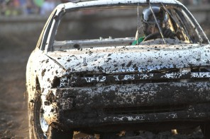 Photos: Harvey County Demolition Derby