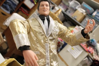 This Christmas-themed Elvis might be included in a silent auction at the Newton Et Cetera Shop. Wendy Nugent/Newton Now
