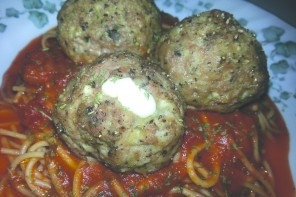 Spice up your Life: Stuffed meatballs prove it's what's inside that counts