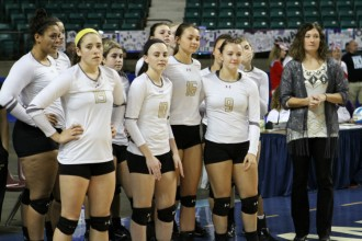 Newton High School volleyball team. File Photo
