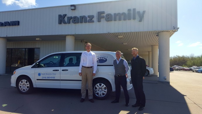 Kranz Family Inc Donates Van To Clinic Newton Now