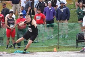 Fulmer takes shot put title, Railers place three