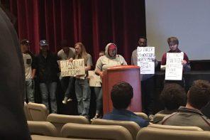 Student group interrupts Bethel event to raise diversity concerns