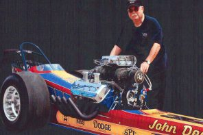 Dearmore to bring dragster to local car show