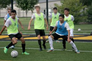 Railers shift gears in soccer camp