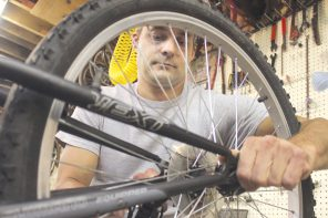 Faith in action: Newton man repairs bikes for homeless shelter residents