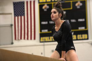 Newton goes after possible final state gymnastics title
