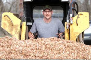 Rolling out a business: Jameson starts Newton Rock & Mulch