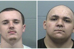 Two arrested for shooting from vehicle
