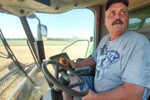 Low grain prices negatively affect value of farm land in Newton area, Kansas