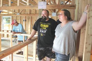 Living in a barn: Hellers transform pole barn into home