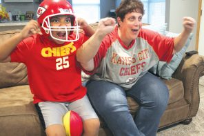 To the Super Bowl! Chiefs fans hold onto hope