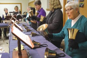 Ringing in the bells:  Special choir wows at North Newton church for decades