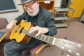 Retired Bethel professor sings, writes, performs