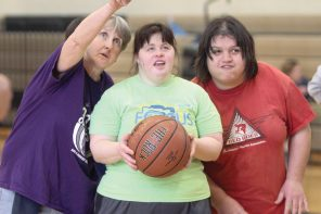On the court: Special Olympians headed to state