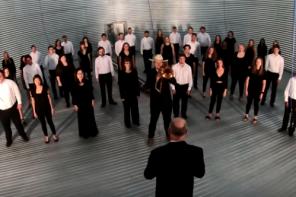 Grain bin concert features Bethel College Concert Choir