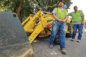 Schroeder, Pope excavate for awards in 'roadeo'