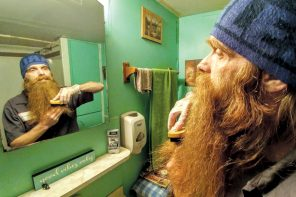 No more close shaves: Newton residents grow epic beards