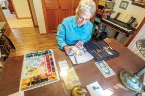 'I just flat love it': Newton resident enters paintings in Art is Ageless