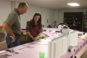Progress underway on Farm to Family exhibit