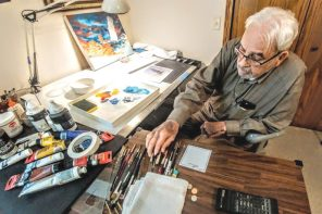 Liking the technology of art: Graham show to benefit local CASA
