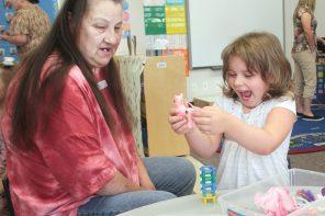Generational fun: Grandparents visit Cooper Early Education Center