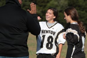 Taking hits: Three girls on middle-school football teams
