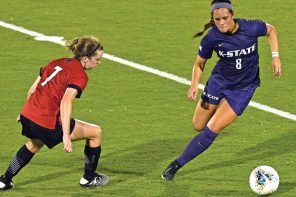 Creativity on the field: Entz enjoys the freedom playing soccer gives her
