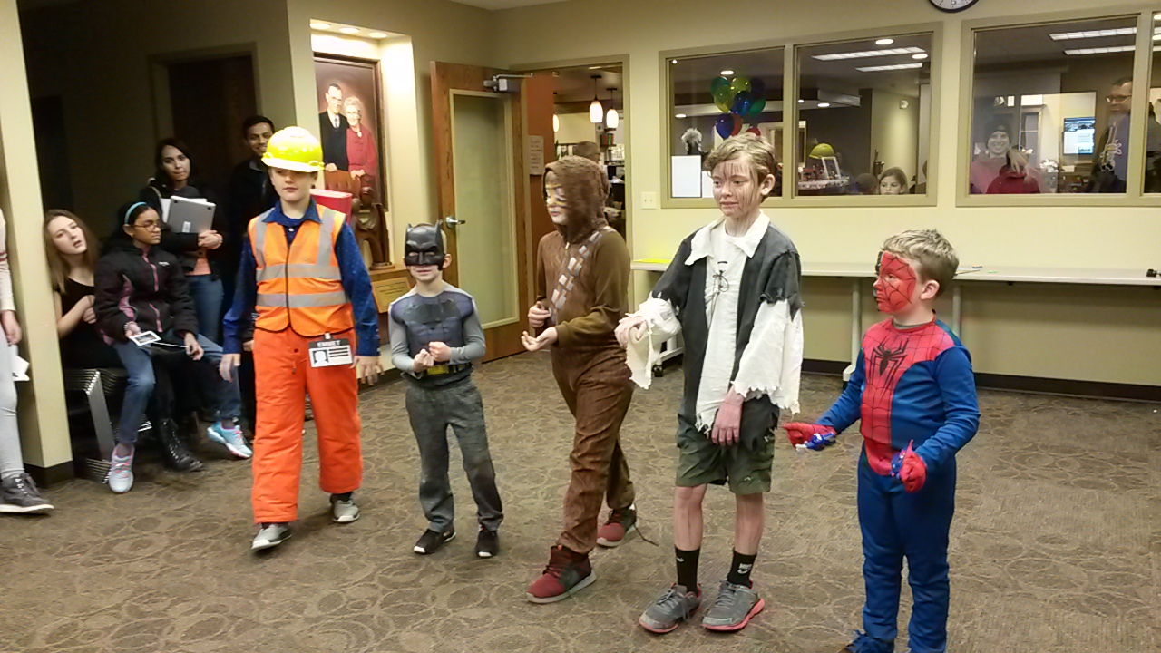 Hesston Public Library's ComiCon free for all ages