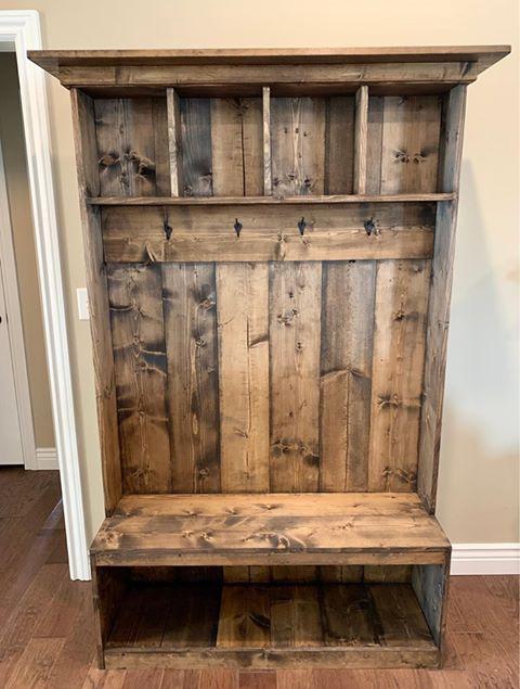 Hesston couple runs furniture business from their garage