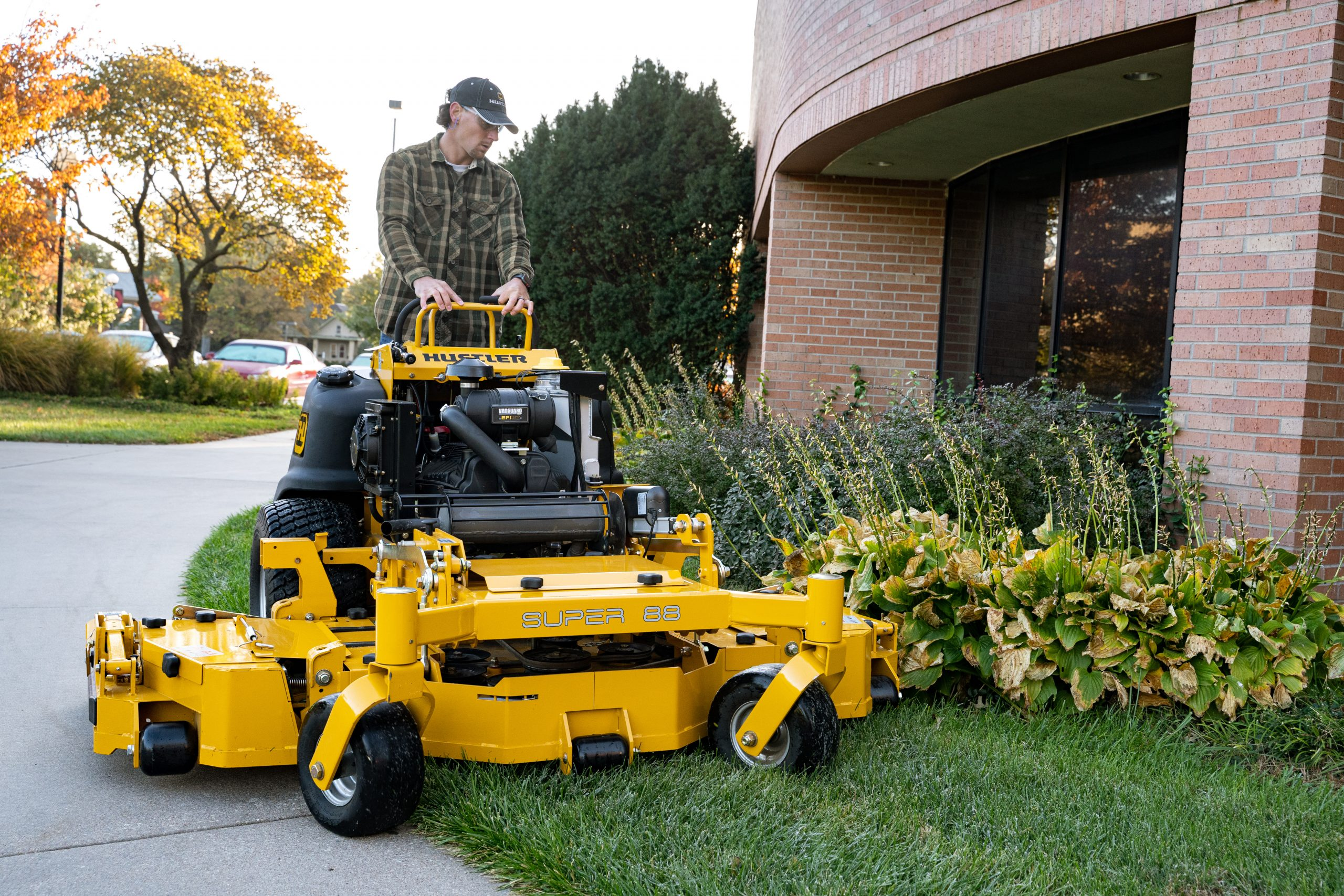 New stand-on mower receives award and acceptance in marketplace
