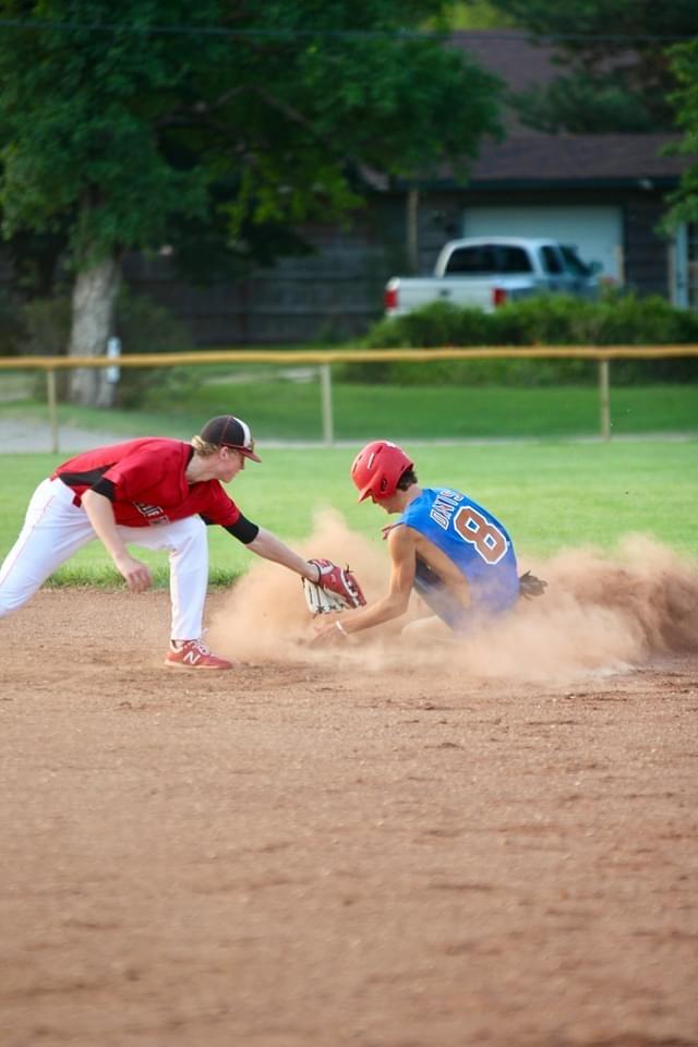 Sedgwick student brings life to baseball diamond
