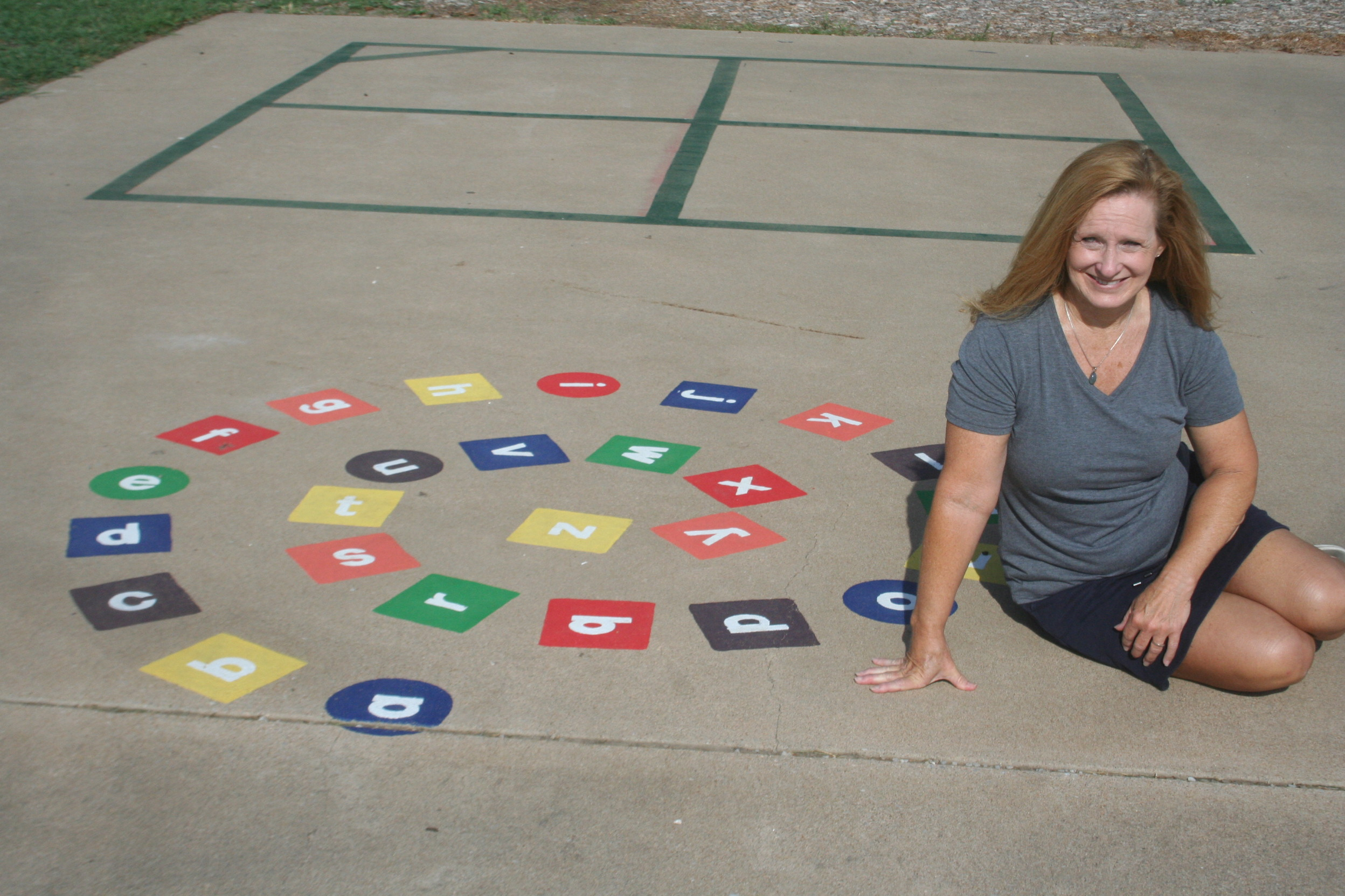 Game Time: Sedgwick teacher brightens playground with new recess opportunities