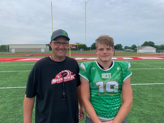 Sedgwick coach and player relish their Shrine Bowl experience