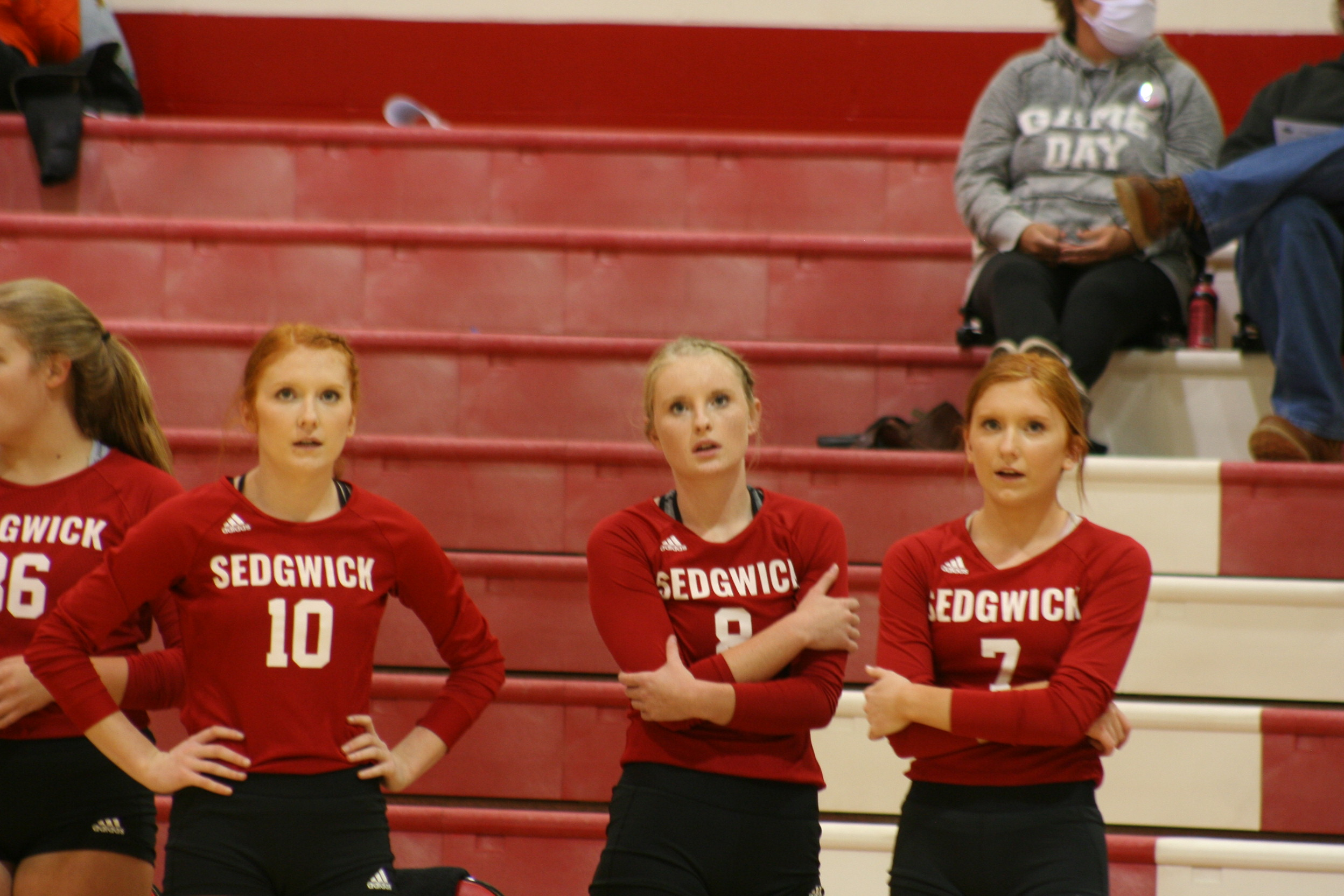 Sedgwick volleyball seeded#2 in sub-state bracket