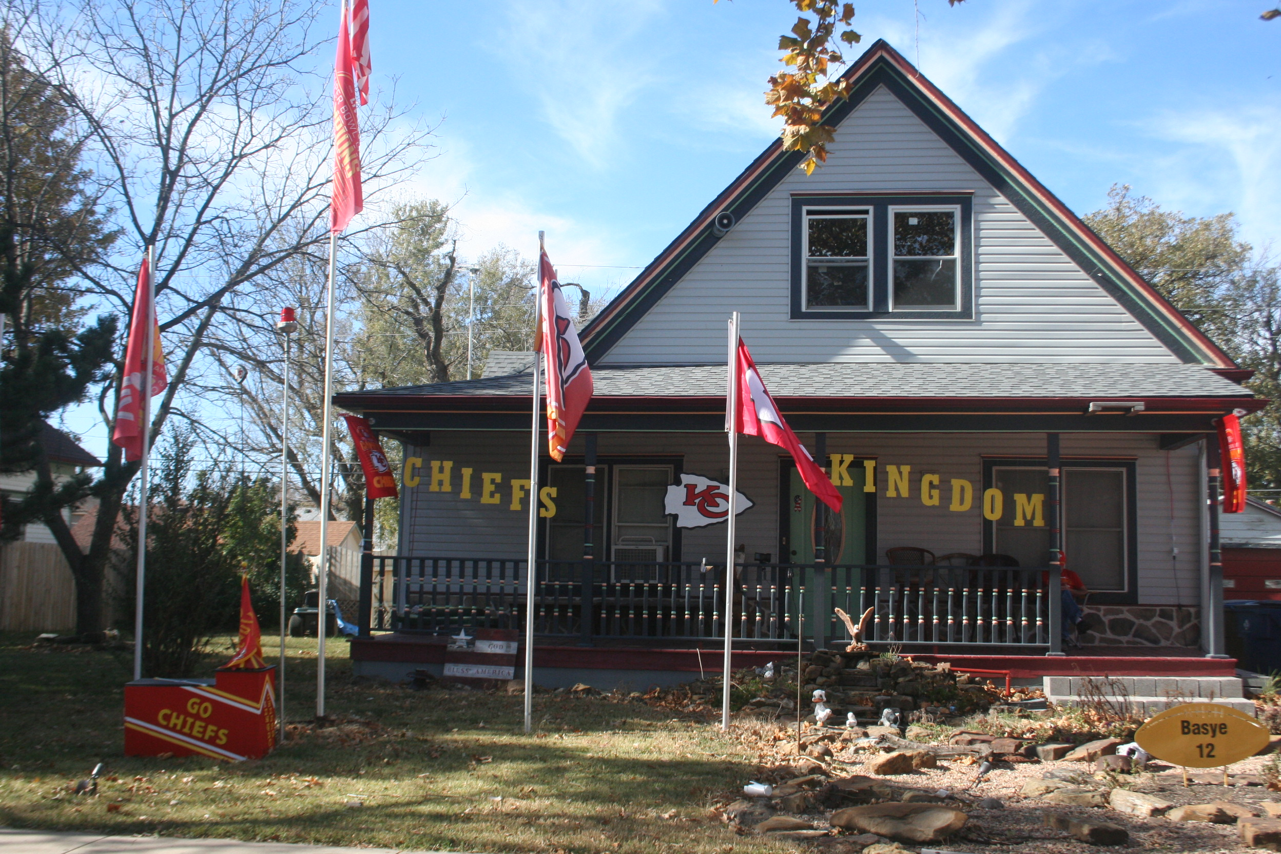 Sedgwick resident takes fanaticism to a new level