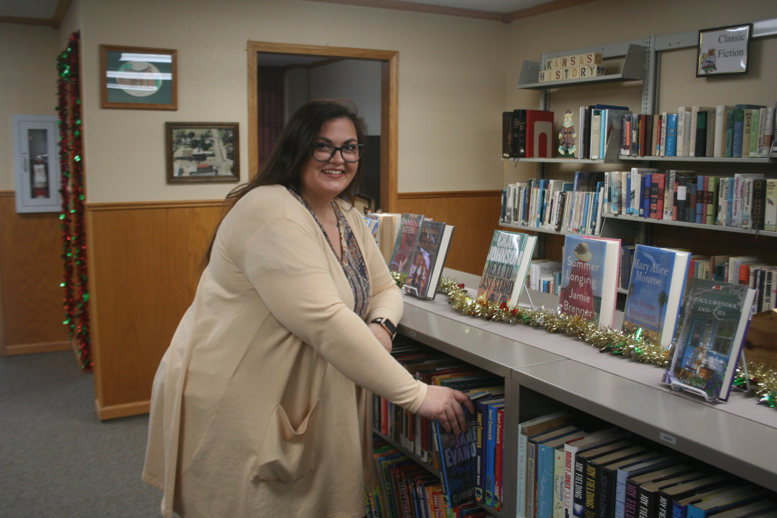 New Sedgwick librarian full of ideas and energy