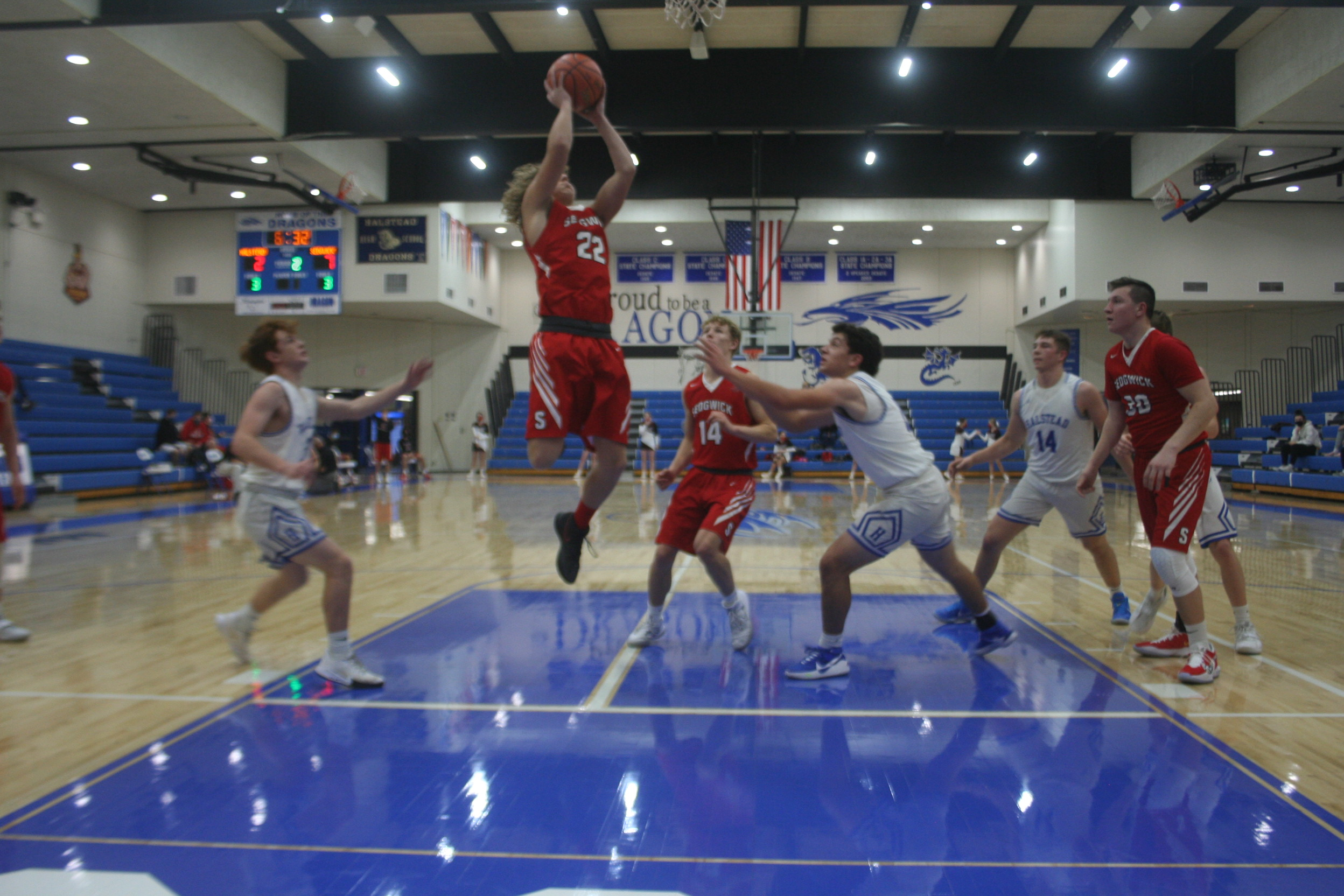 Sedgwick comes away with win, room for improvement in first game