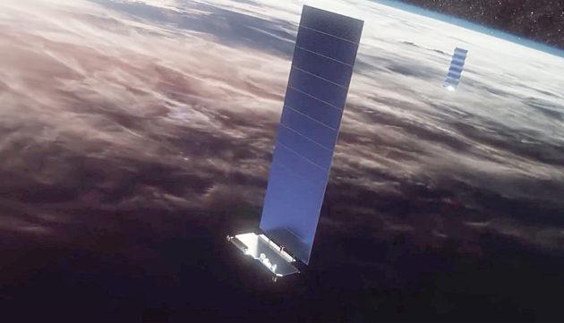 Illustration of satelite
