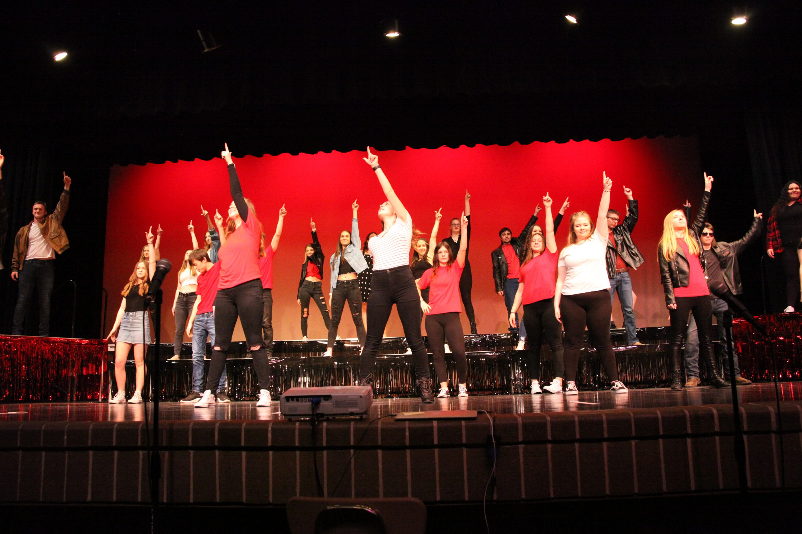 The show finally went on for Sedgwick Encore