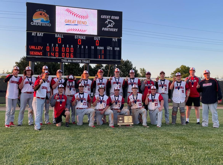 Sedgwick baseball uses dramatics to win state