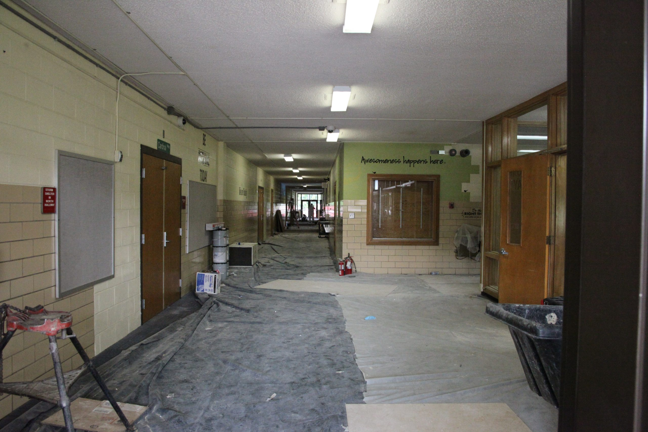 Sedgwick elementary school will be a cool place to be this fall