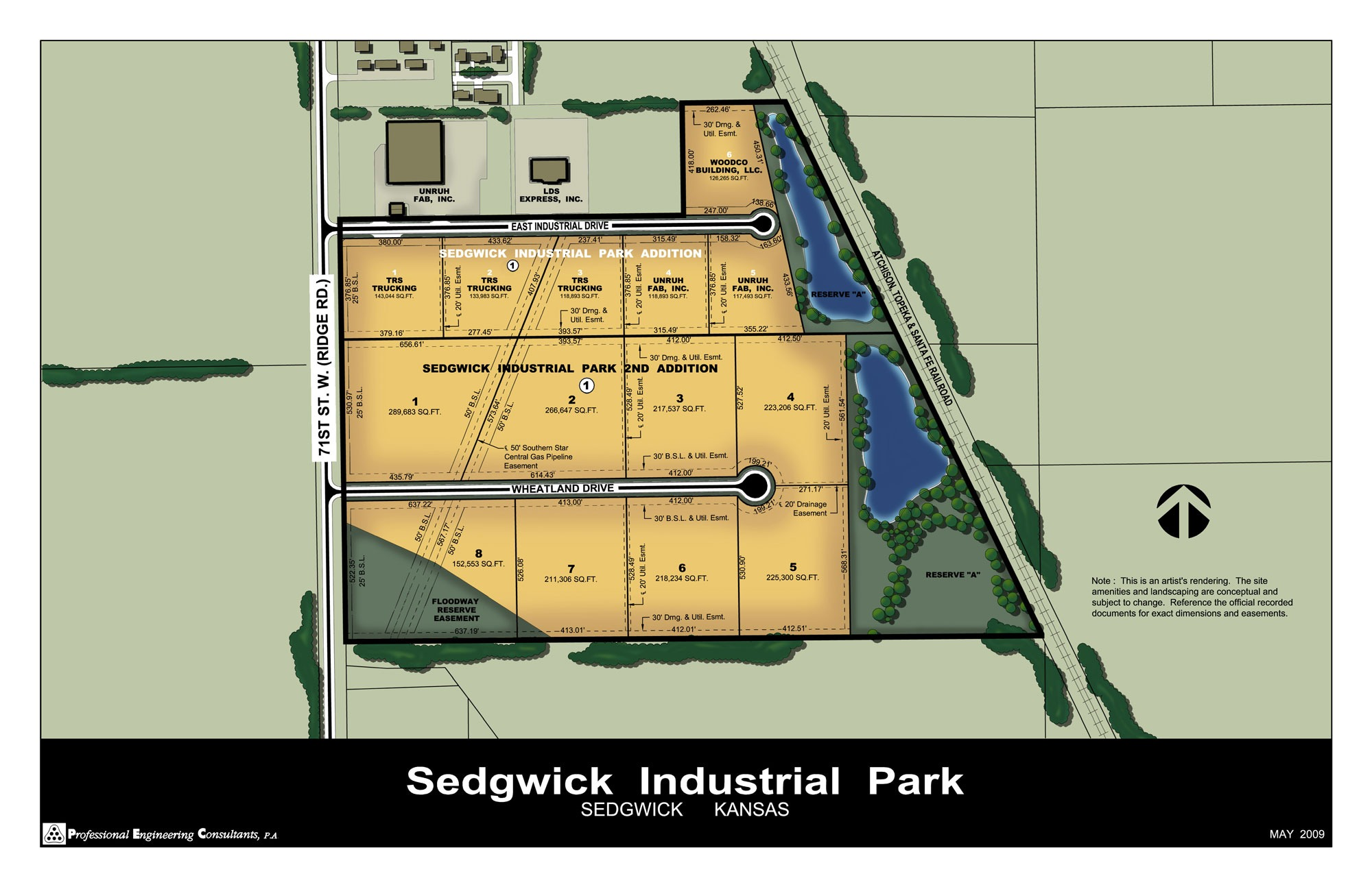 Sedgwick claims to be making progress on developing its industrial park