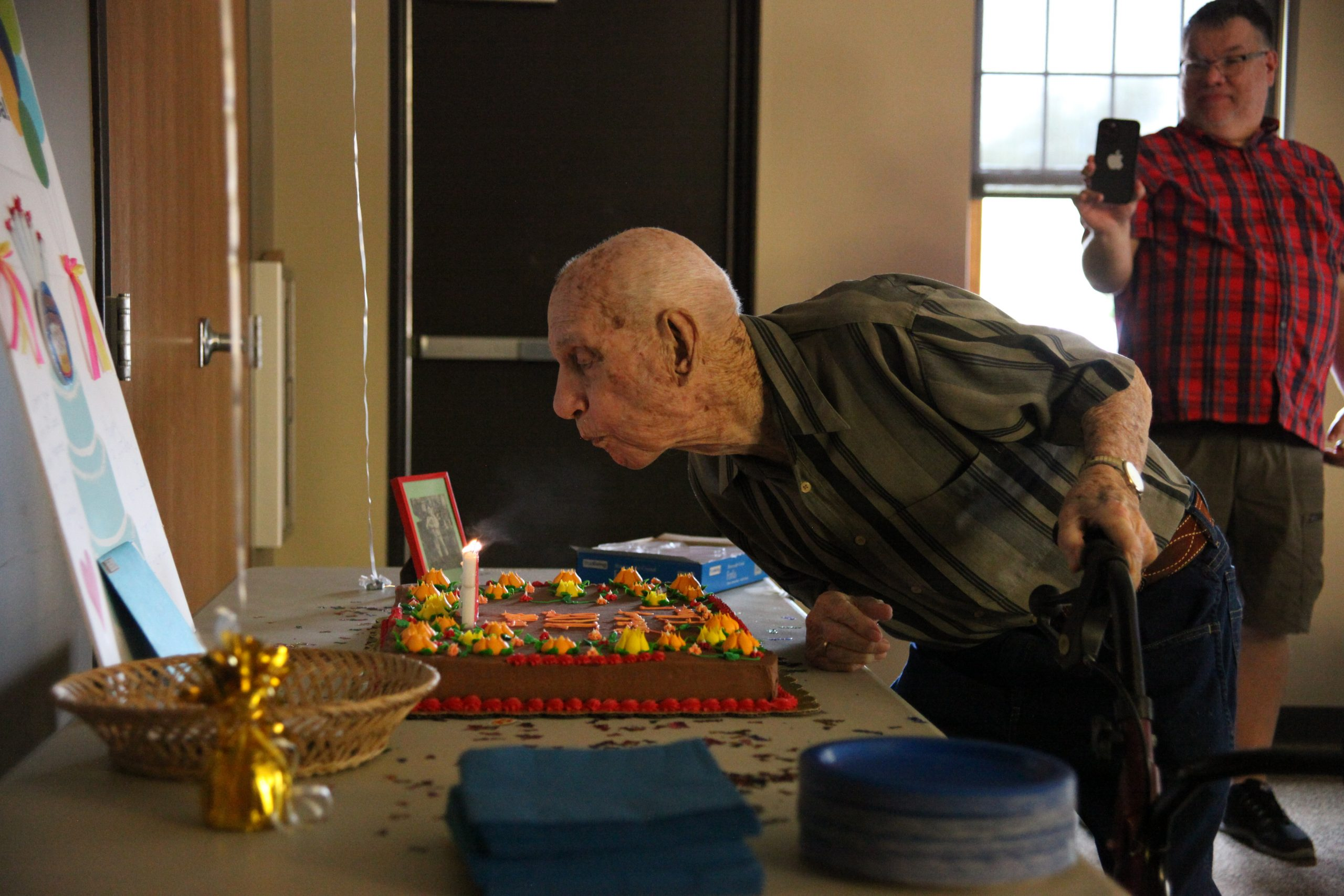 Party like it's 1913:  Oldest man in Kansas completes his 108th year