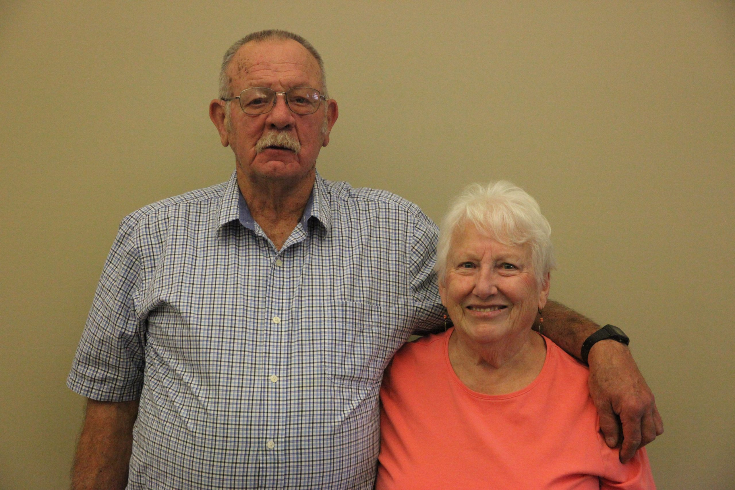 Bob and Diane Thompson honored as this year's parade marshals