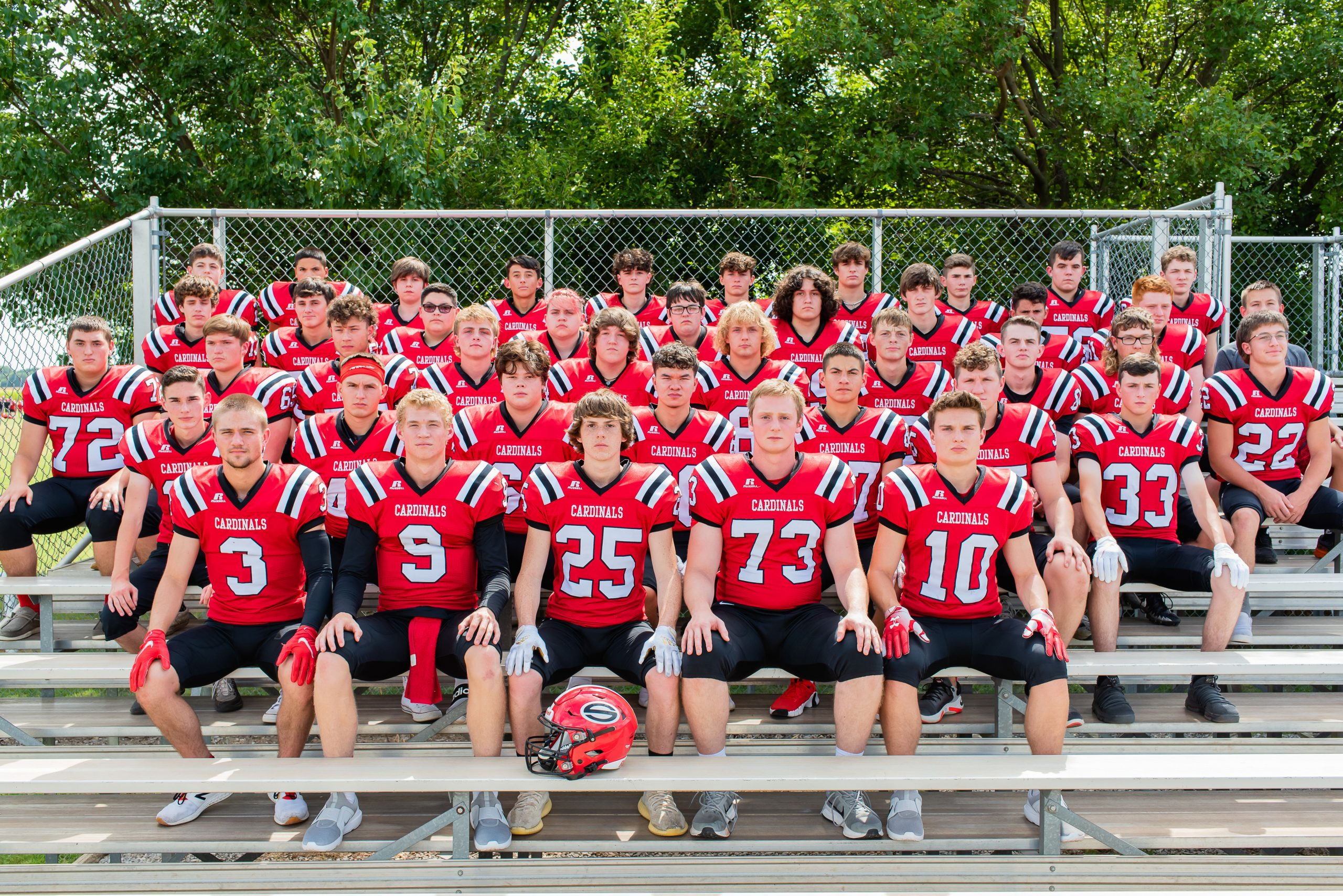 Sedgwick football has senior leadership, strong experience, and high expectations